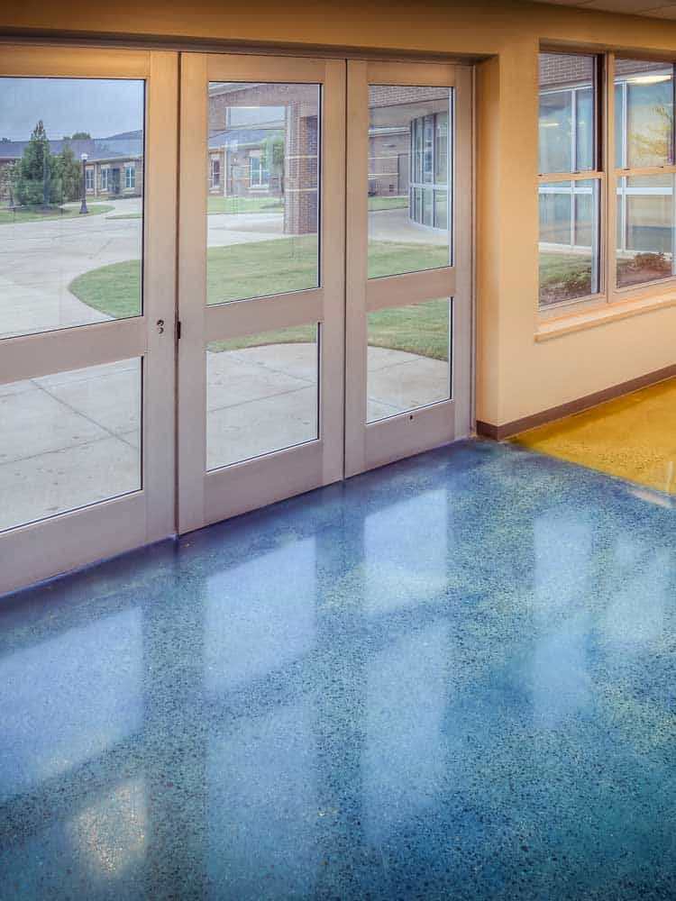 Interior Concrete Floor Stain Prosoco Gemtone Stain