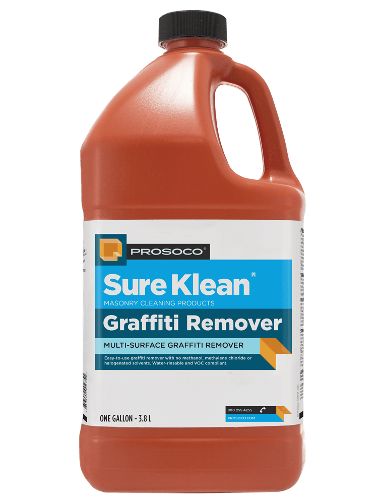 914ef70e190f Graffiti Remover | Graffiti Cleaner | Spray Paint Remover - PROSOCO