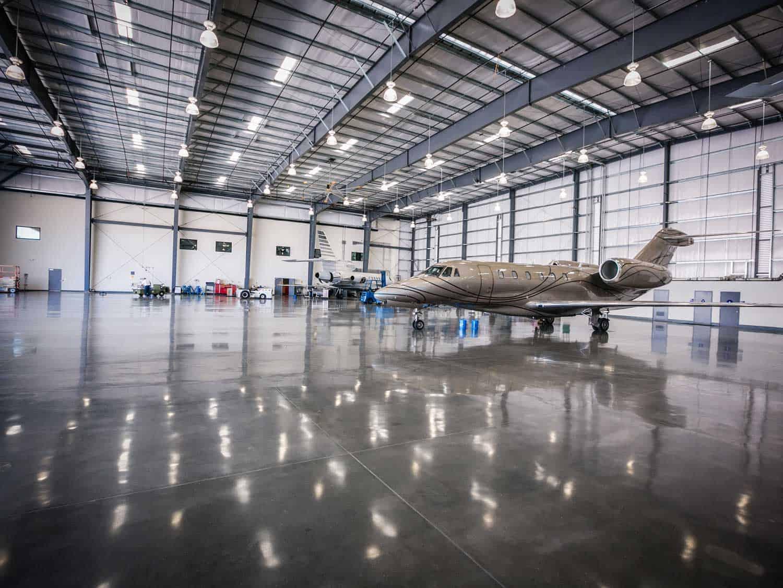 LS-concrete-floor-Thornton-Aircraft-Hangar