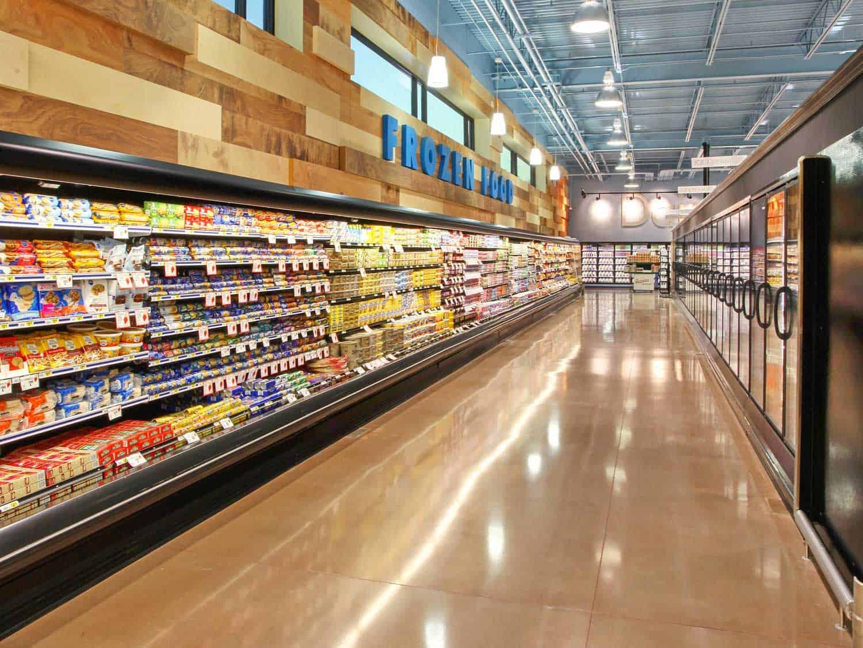 LS concrete floor grocery store