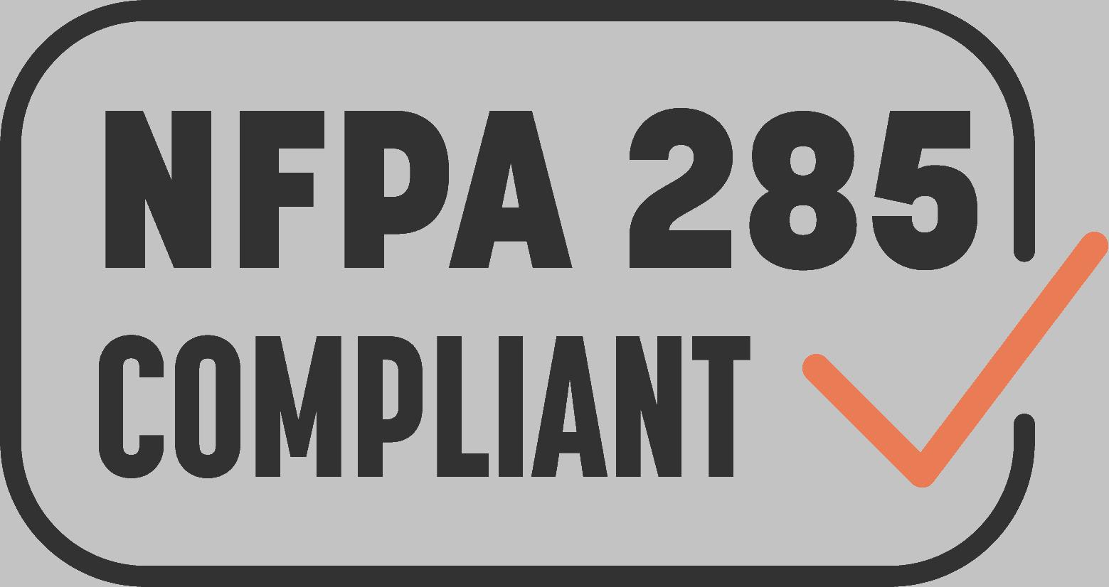 NFPA 285 Compliant Wall Assemblies