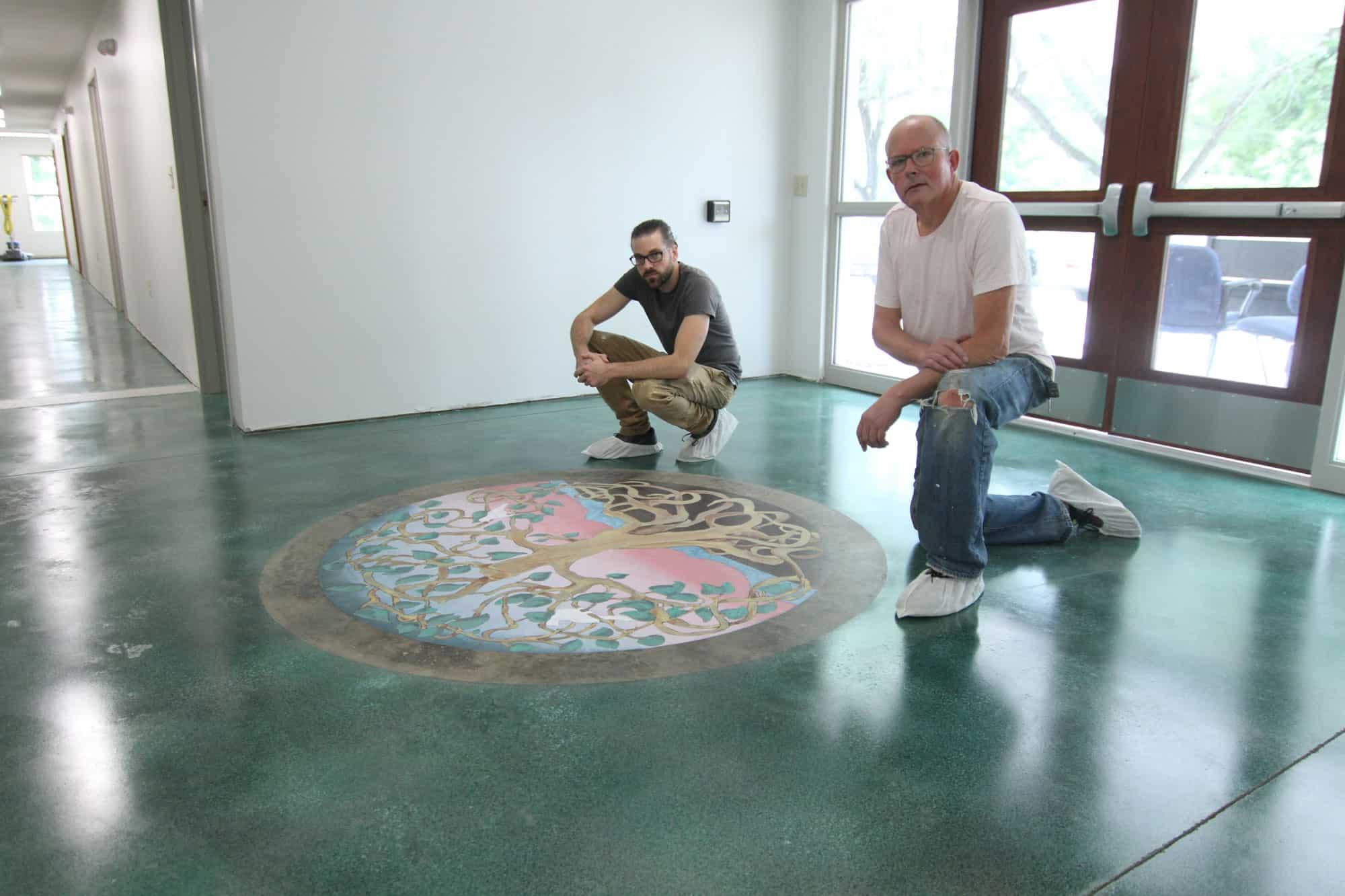 Tom Schulz and Daniel De Wit of Ennis Art