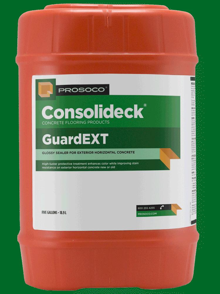glossy concrete sealer