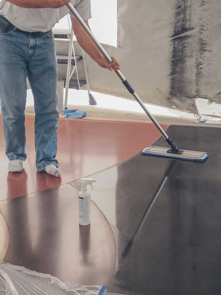 Interior Concrete Floor Sealer - PROSOCO PolishGuard
