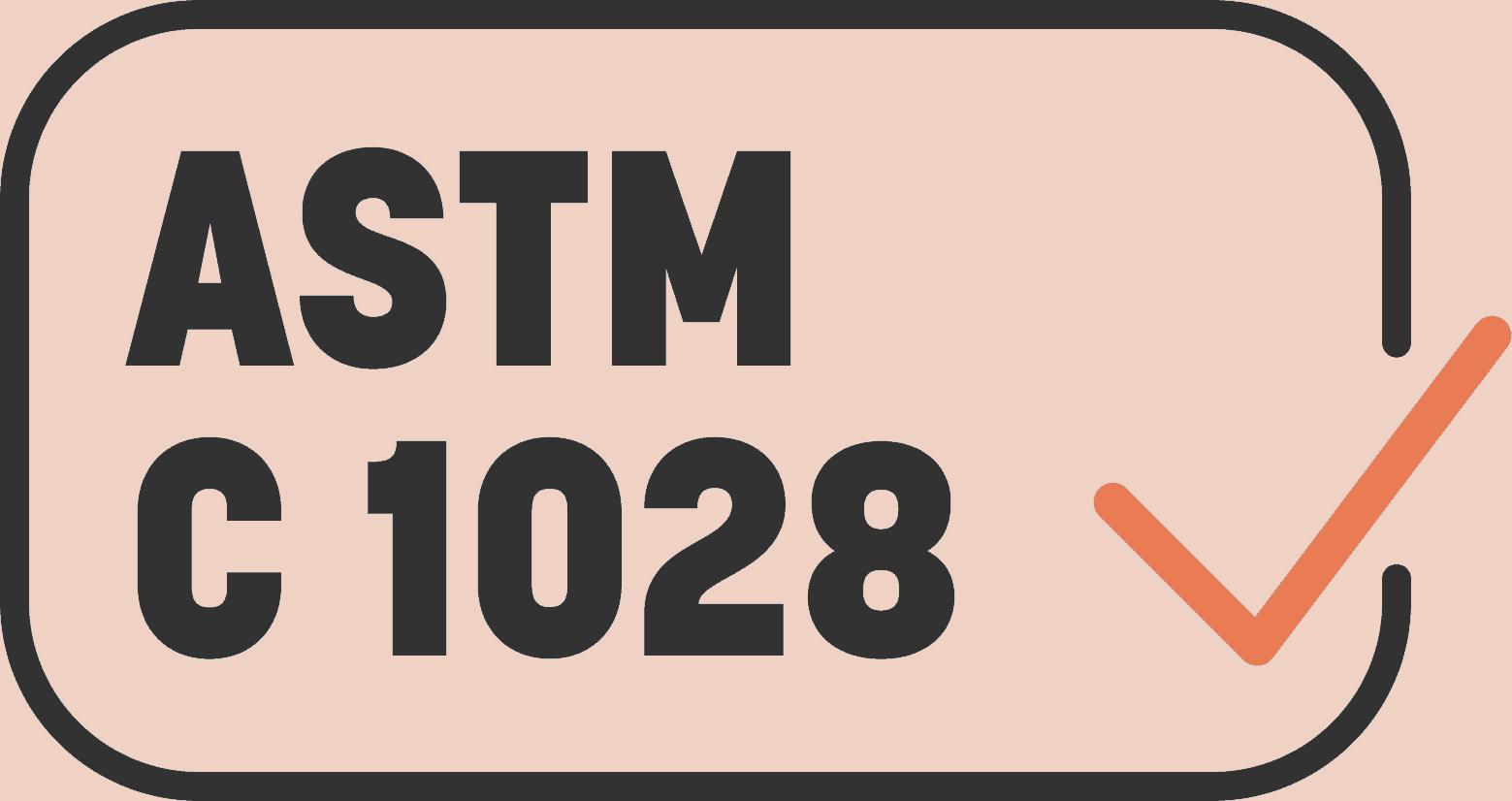 ASTM C 1028