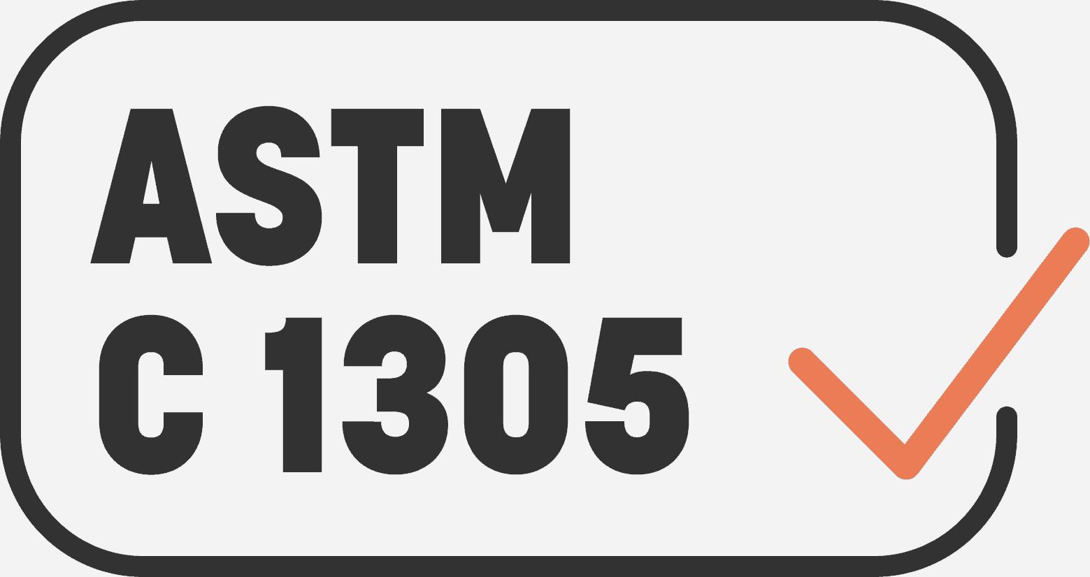 ASTM C 1305