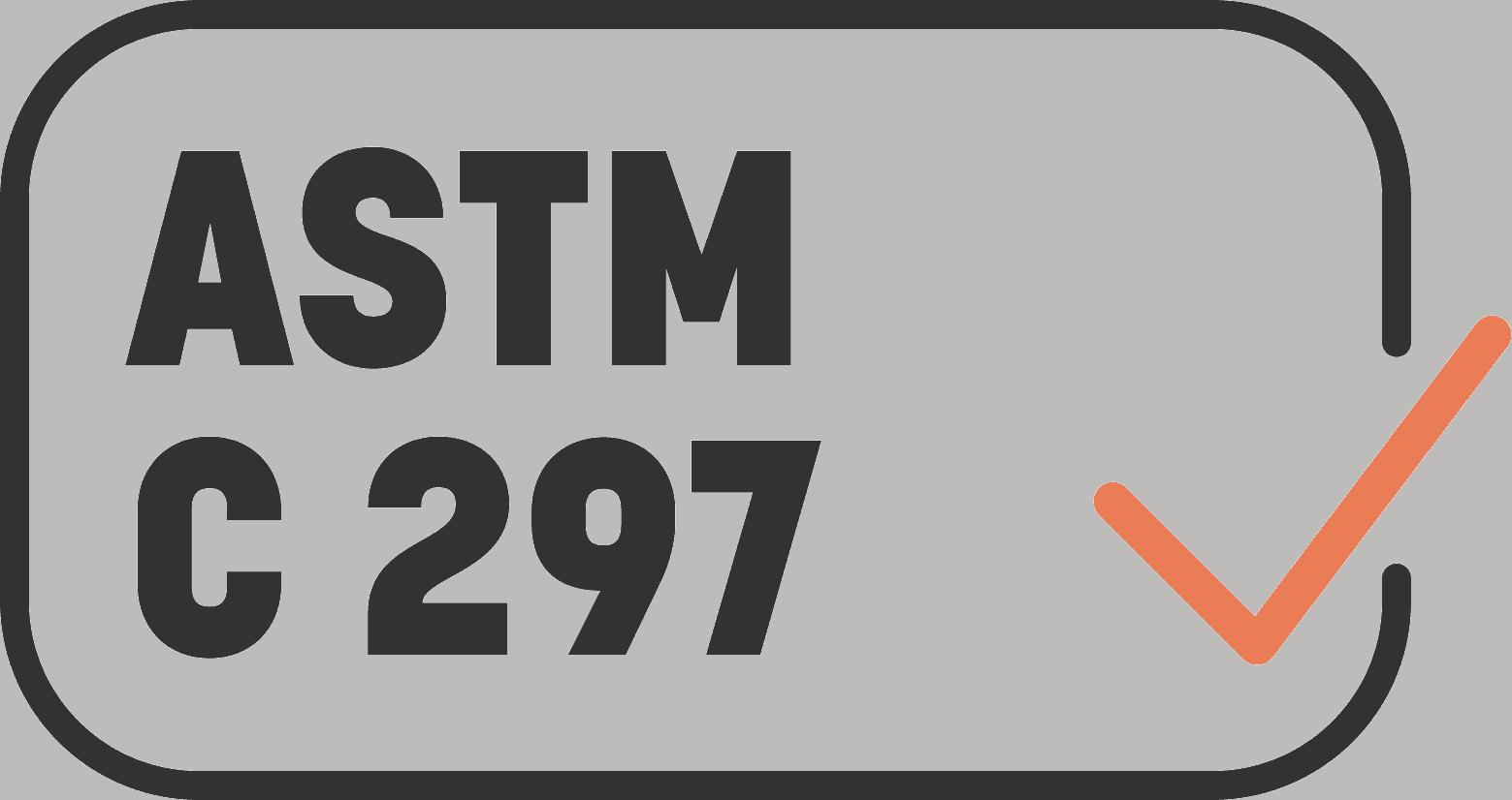 ASTM C 297