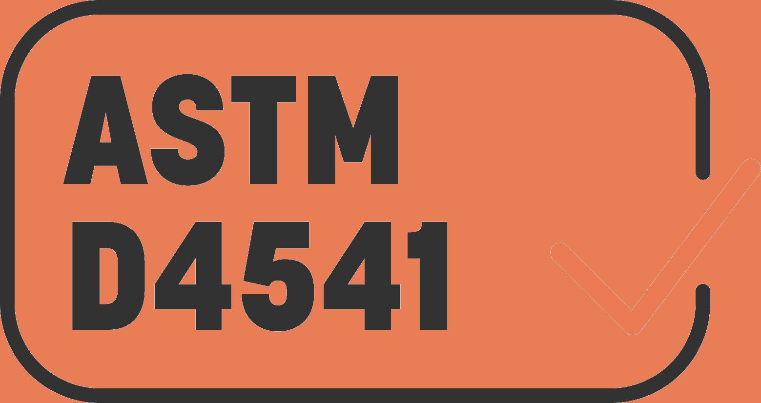 ASTM-D4541