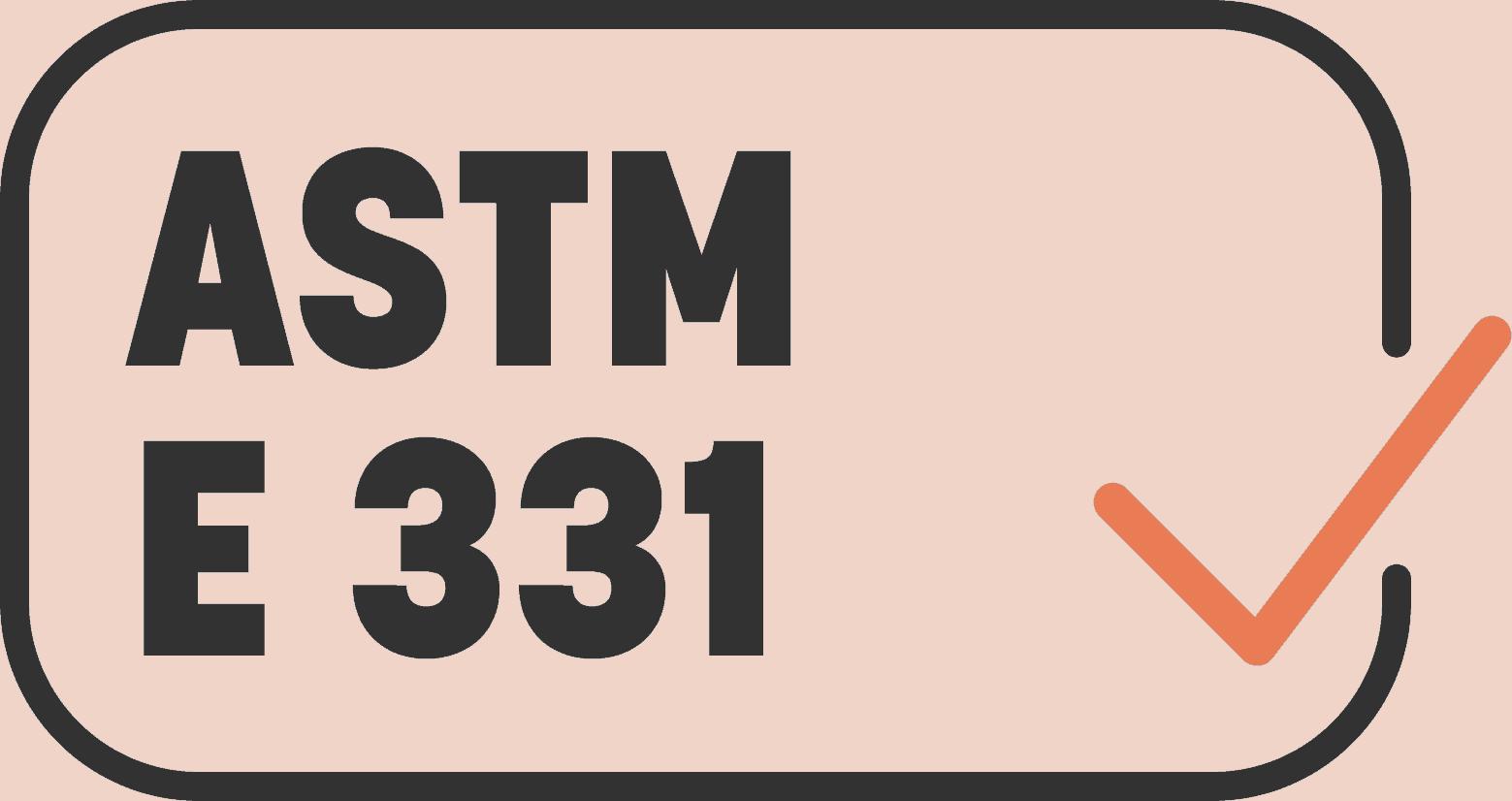 ASTM E 331