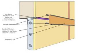 Deflection joint greater than 1 Inch S12.1B