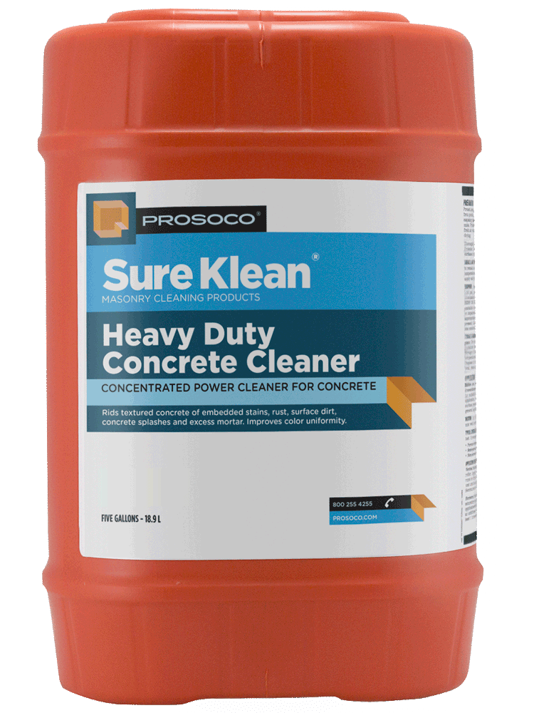 heavy duty concrete cleaner