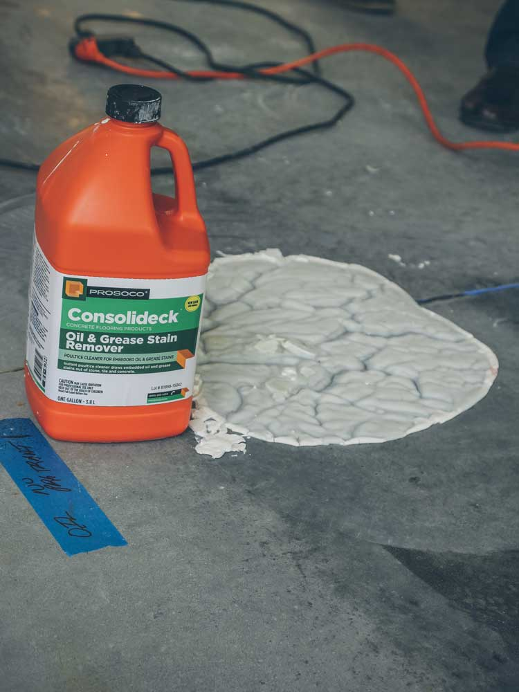How To Clean Up Motor Oil Spill On Concrete Wallpaperzen Org