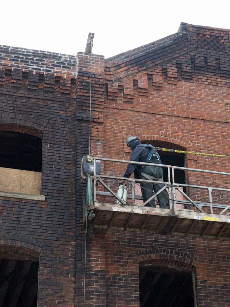 Restoration-Cleaner-on-red-brick cleaning