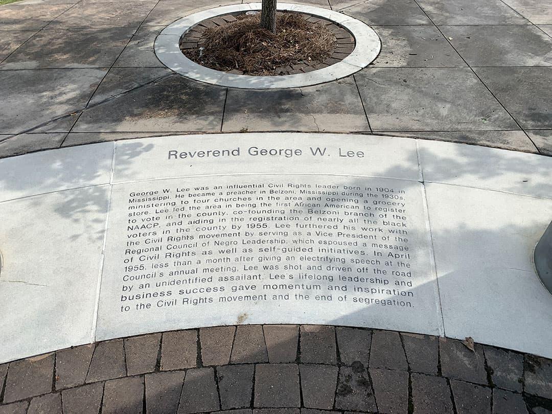 Lee memorial - after