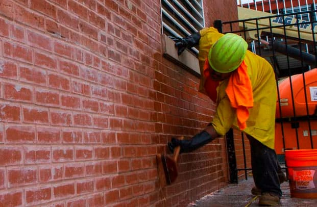 How To Clean Brick For Interior Or Exterior Walls