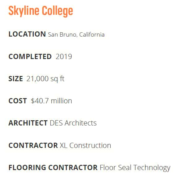Skyline College project details