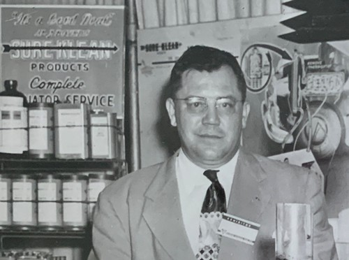 AJ Boyer, founder of the Process Solvent Company