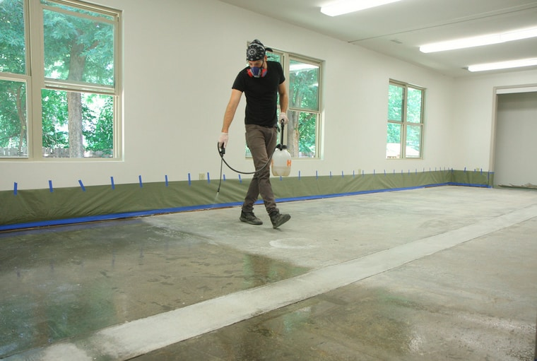 How To Remove Sealer From Concrete In A