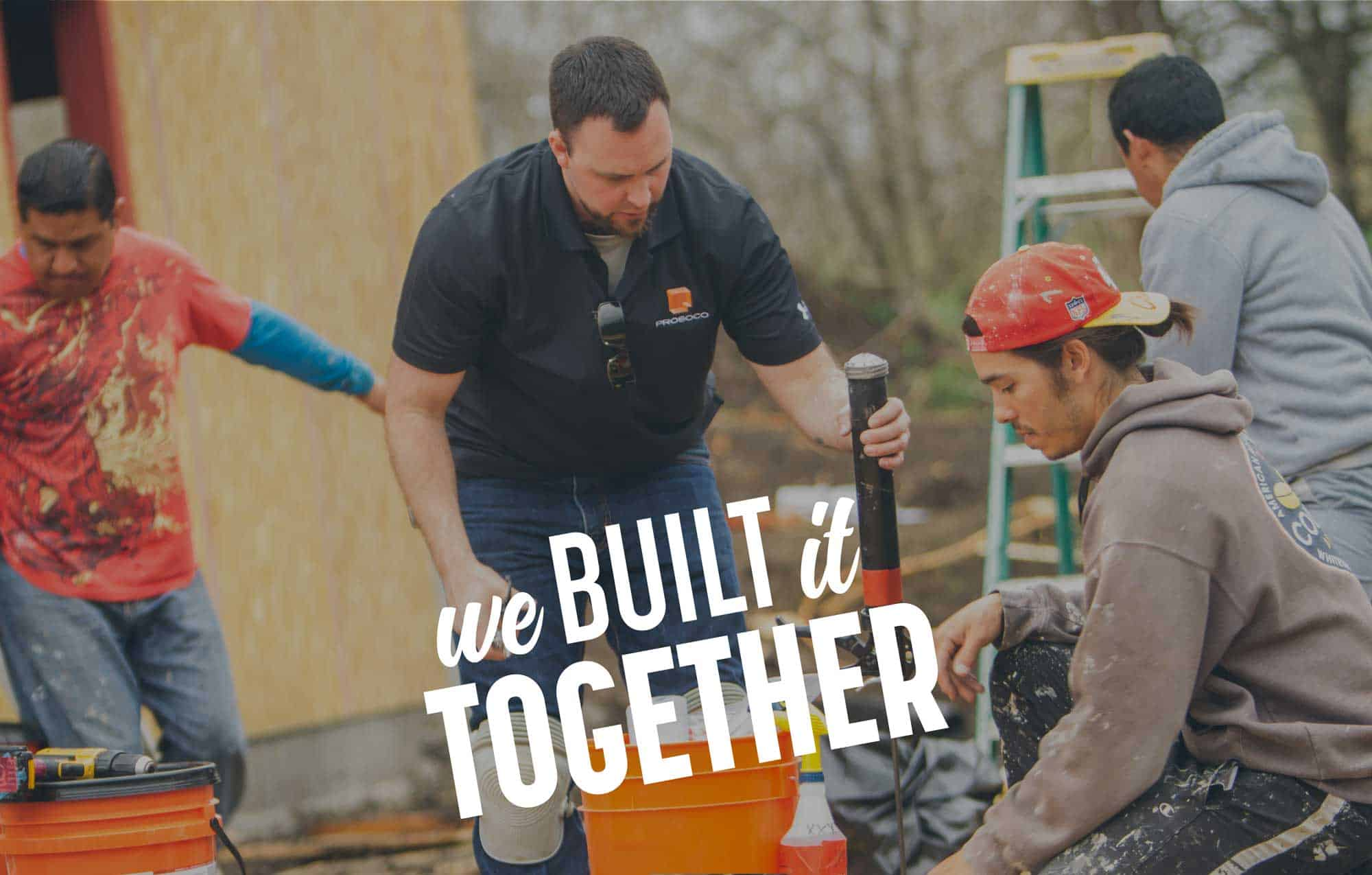 We Built It Together campaign