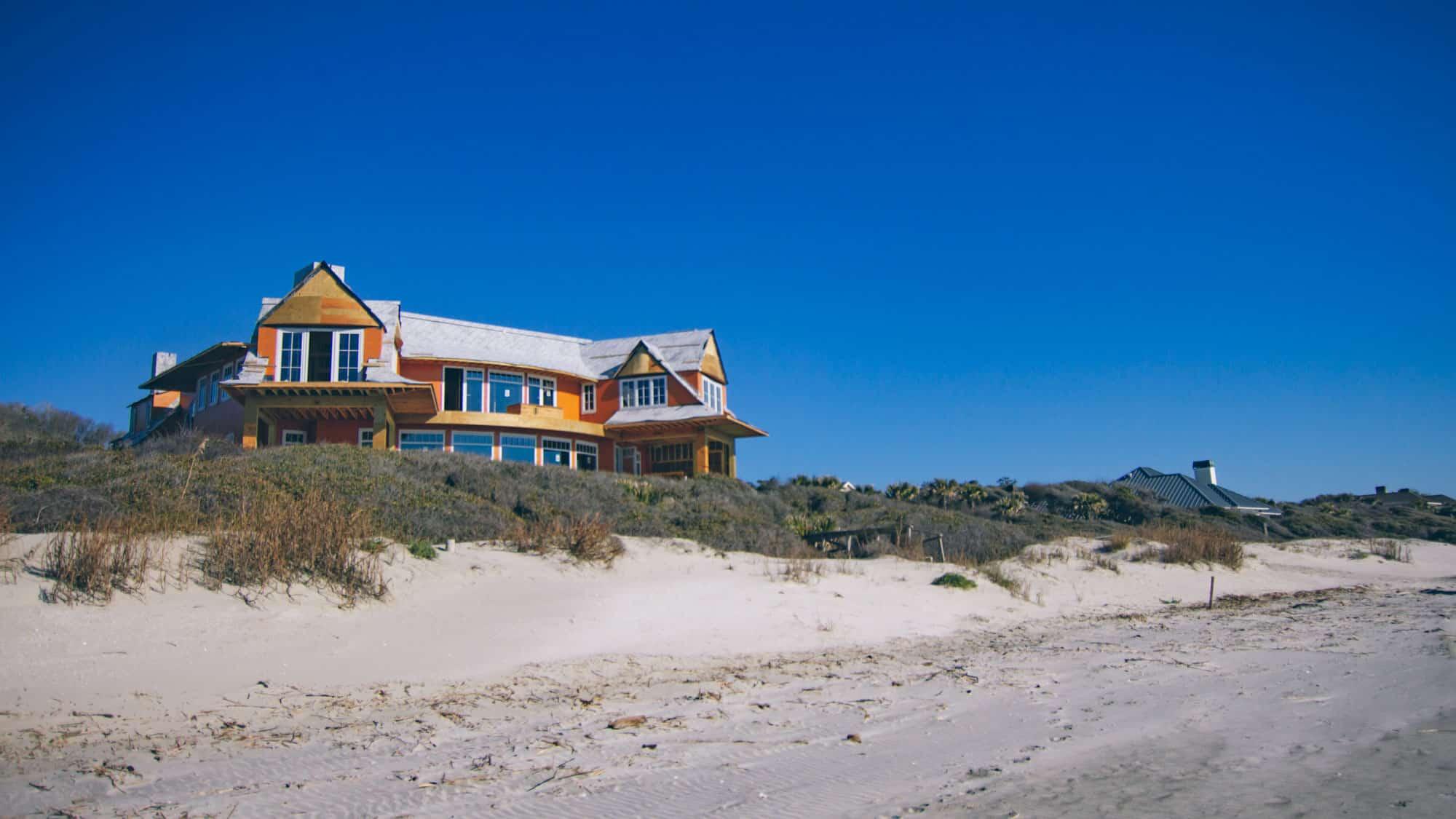 Kiawah Island home build