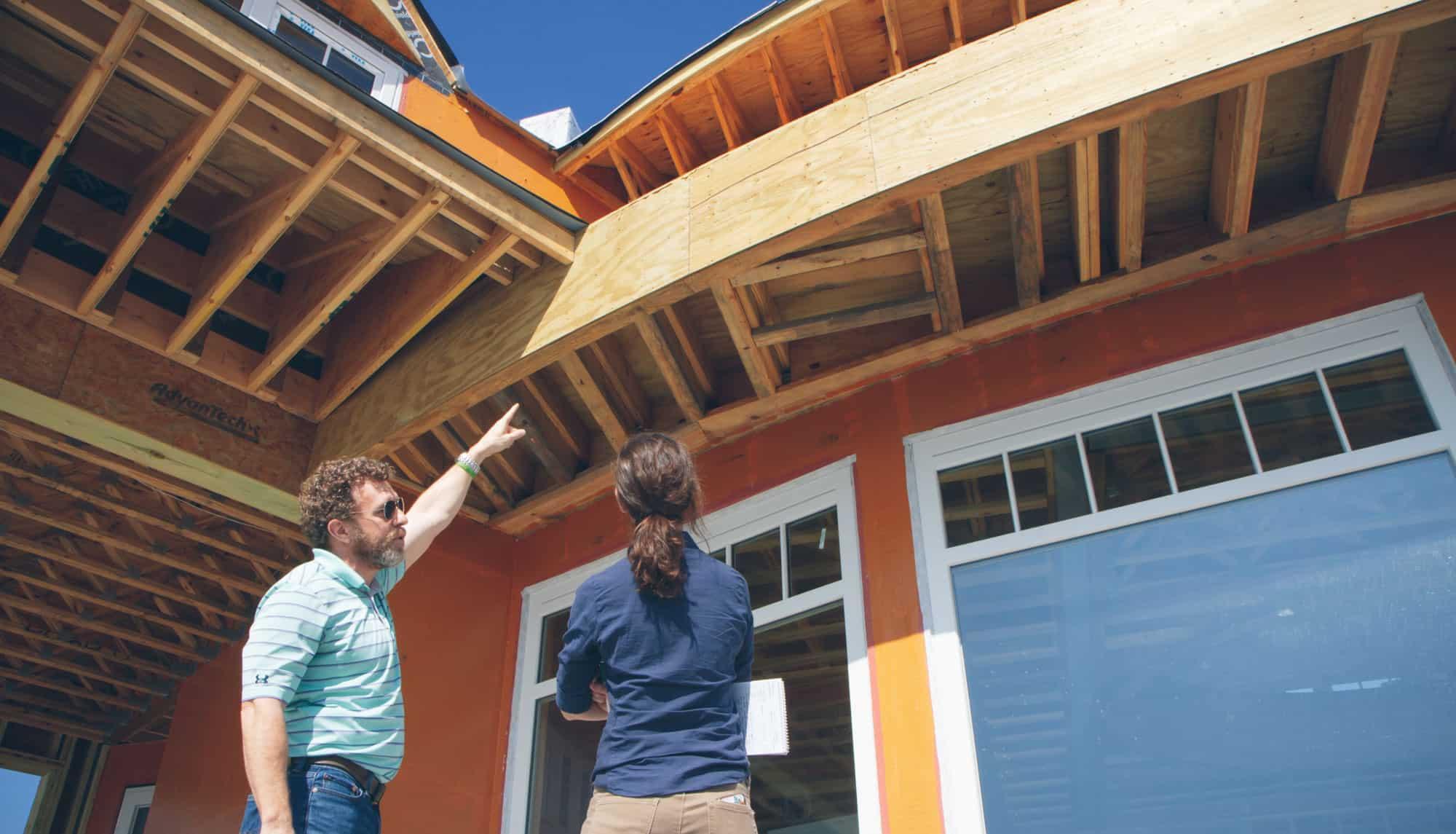 Building Envelope details of Residnetial build