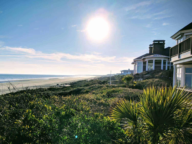 A residence on the beach on Kiawah Island, S.C.