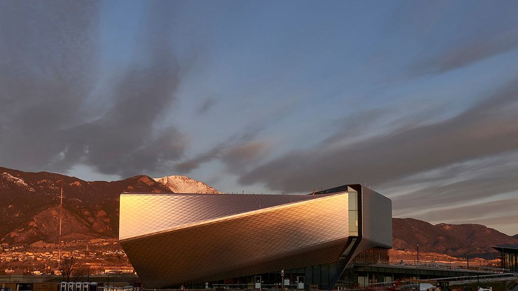 The U.S. Olympic and Paralympic Museum in Colorado Springs, Colorado.