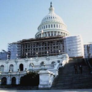 U.S. Capitol close-up