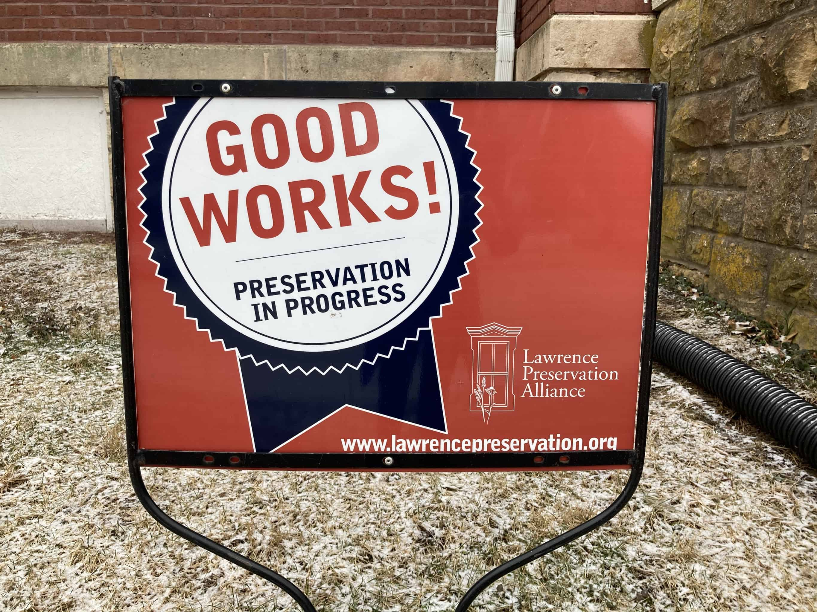 Local preservation organizations have raised money for the church's restoration.