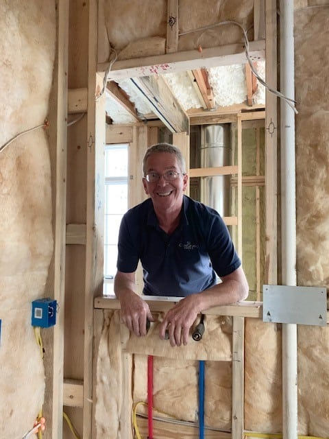 Rodney uprooted his life from Pennsylvania to work for CopeGrand Homes in Charleston, S.C.