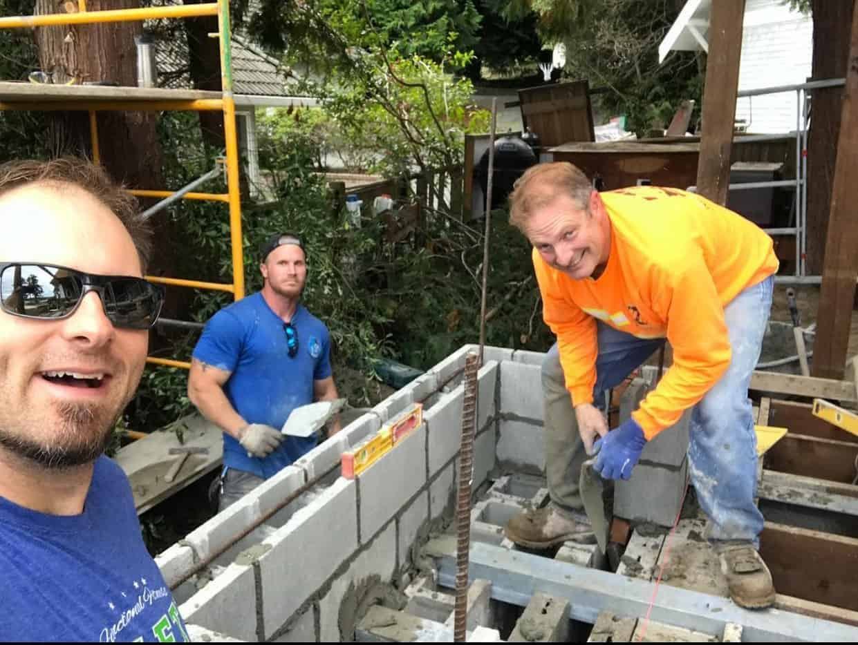 Benjamin Warfield is the owner of Warfield Masonry, a commercial masonry contractor in Gig Harbor, Wash.