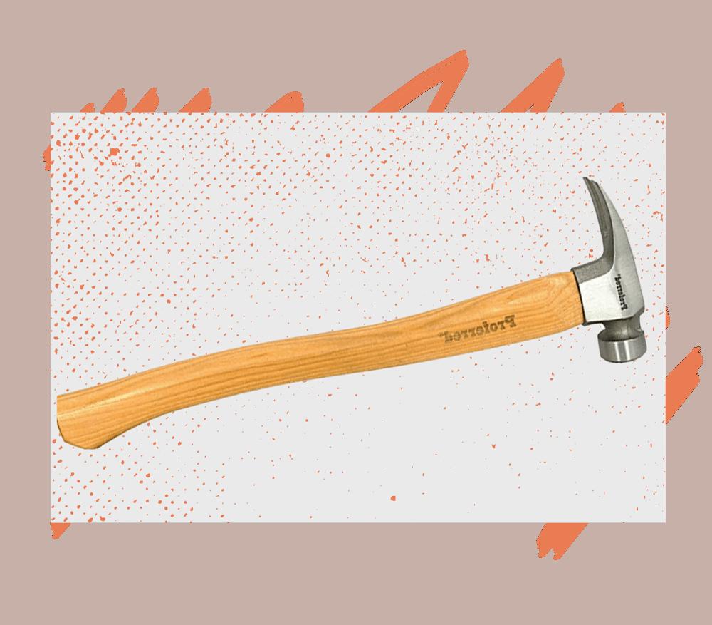 A framing hammer