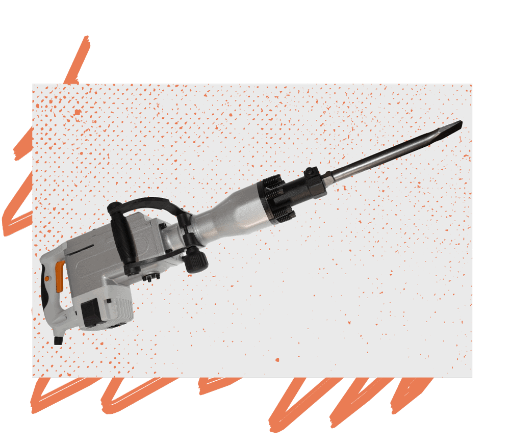 A jackhammer