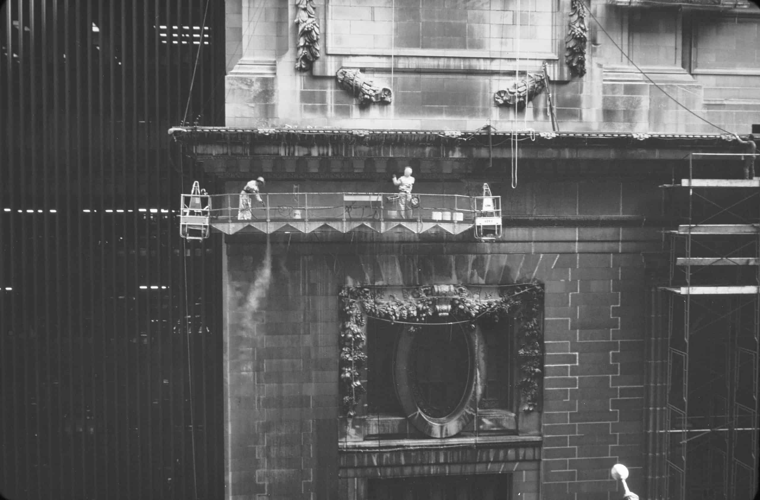 PROSOCO products were used to clean the extremely dirty exterior of Grand Central Station.