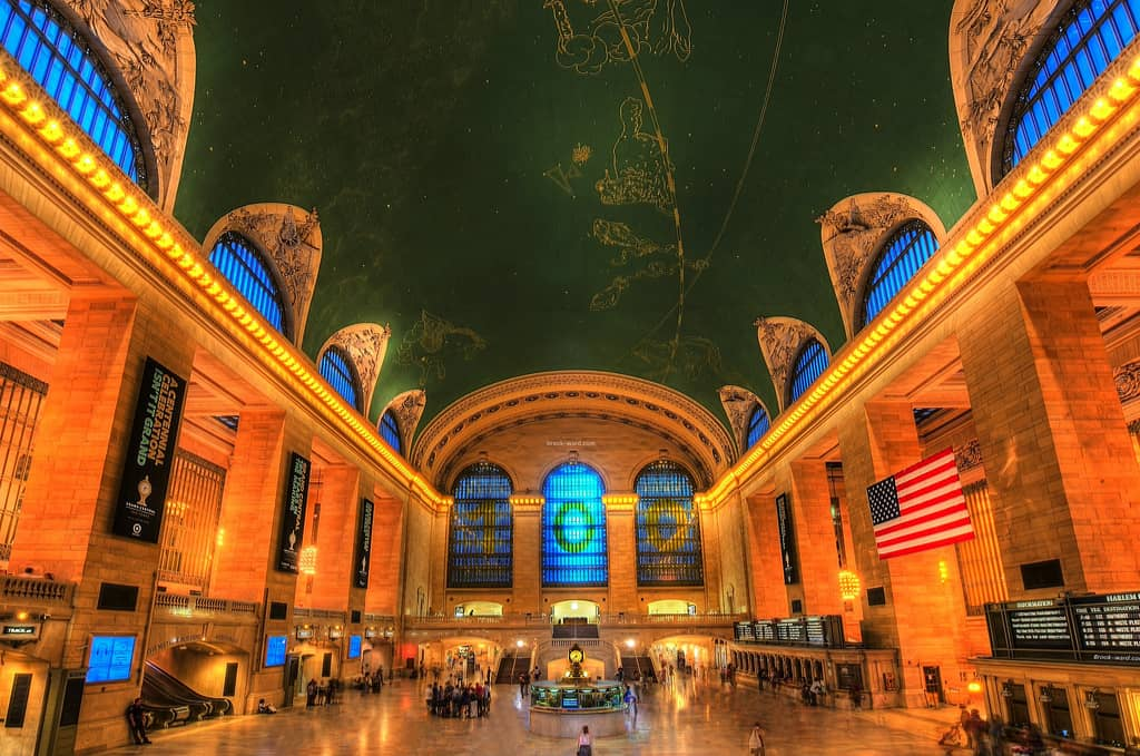 Grand Central Station in NYC.