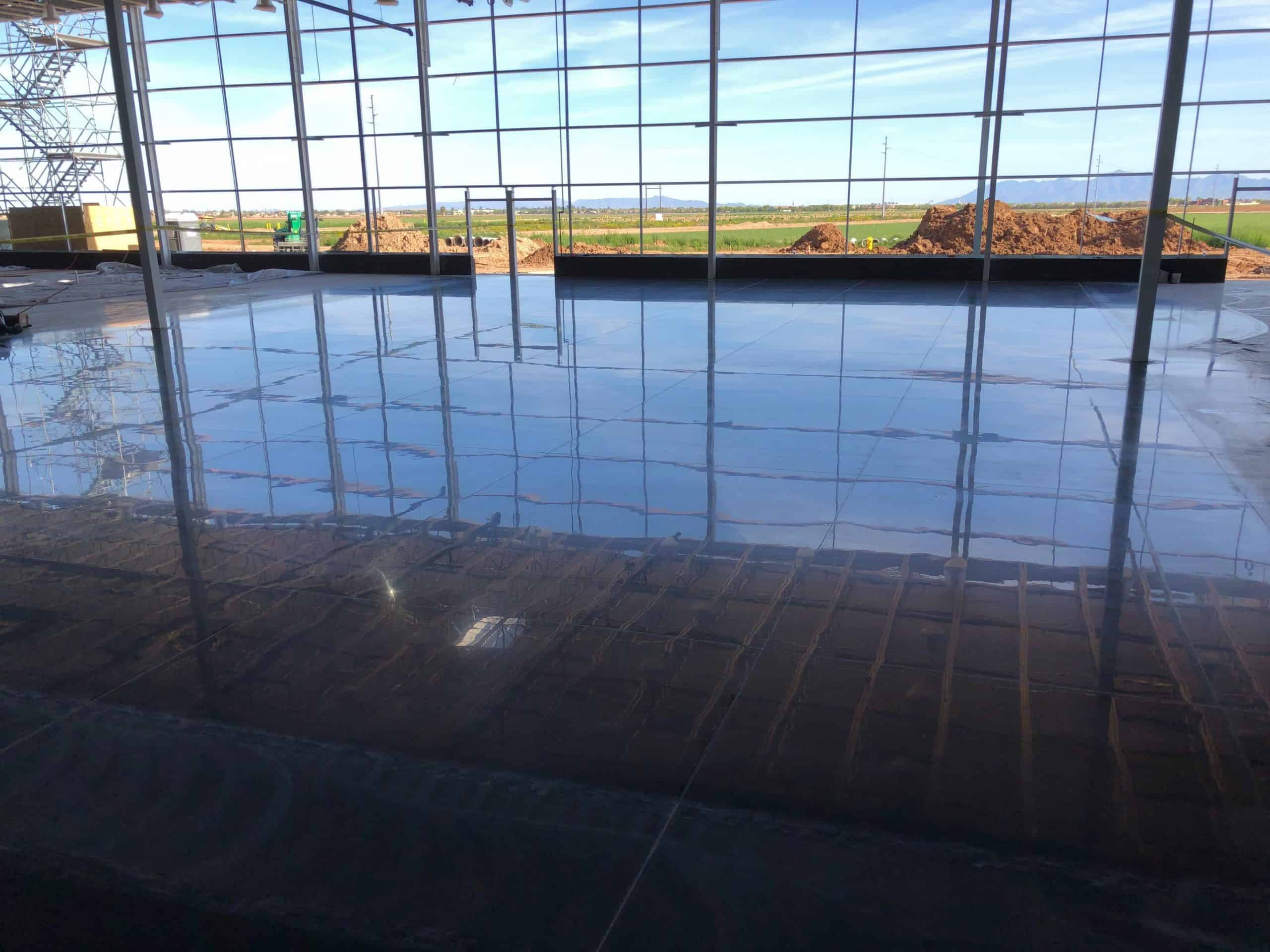 Exposed Design Group finished the floor for a Costco in Surprise, Ariz.