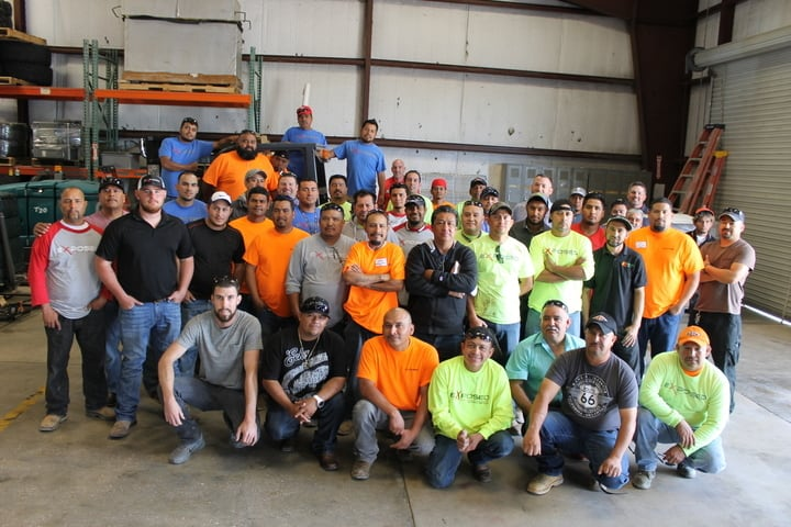Today, Exposed Design Group, which primarily specializes in concrete and waterproofing work, employs 160 people and counting, is licensed in 14 states and has done work in 40 states.